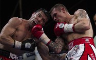 Sergio Marrtinez (links) besiegt Martin Murray
