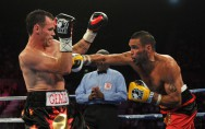 Daniel Geale (links) besiegt Anthony Mundine