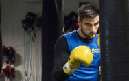 Erik Skoglund im Training