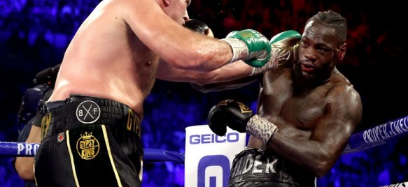 Wilder vs. Fury II: Fury gelingt T.K.o.-Sensation